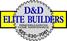 D & D Elite Builders LLC Logo